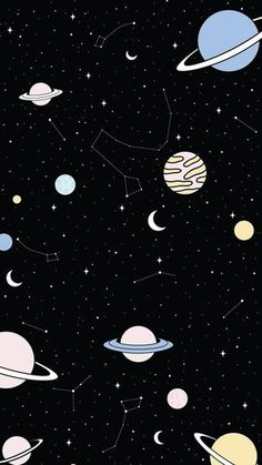 Tumblr Wallpaper, Whats Wallpaper, Space Phone Wallpaper, Dark Wallpaper Iphone, Planets Wallpaper, Iphone Wallpaper Tumblr Aesthetic, Black Aesthetic Wallpaper, Star Wallpaper, Iphone Background Wallpaper