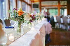 A sweet table display at an Augustine Golf Club wedding reception! {Augustine Golf Club}