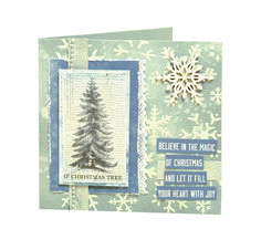 Frosted Card