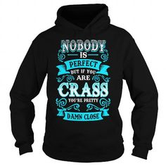 CRASS Nobody is Perfect but if you are CRASS youre Pretty Damn Close