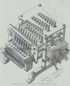 The young LUIGI TORCHI was a carpenter who, had only been to primary school. In 1834 he obtained a gold medal for a calculator he had created from pieces of wood and steel wire. It took him three years to build the first machine. No mention of his birth. His machine did three operations (sums, subtractions and multiplications).