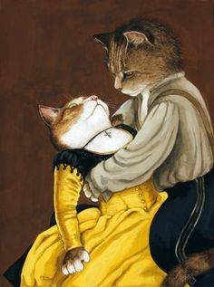 Прикольные кошки Сьюзен Герберт / фото 2018