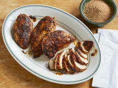 Get Pastrami-Spiced Chicken Recipe from Cooking Channel