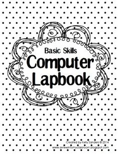 All About Computers Lapbook. Basic computer skills for the