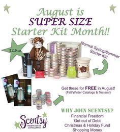 Sheri Presswood - Independent Scentsy Consultant: Deluxe Scentsy Starter Kit in… | FindSalesRep.com