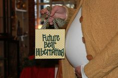 Cute announcement for an expecting #Baylor couple!