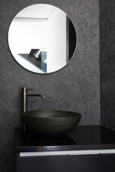 St Marks Lane - Picture gallery Two Story Homes, Story House, Black Walls, Shades Of Black, Small Bathroom, Bathroom Ideas, Powder Room, Saints, Contemporary