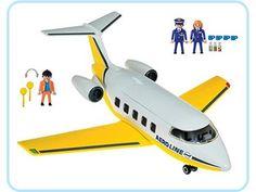 PLAYMOBIL - 3185 - Equipage / avion