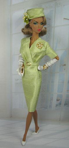 February 2013 ●‿● barbie lime green dress