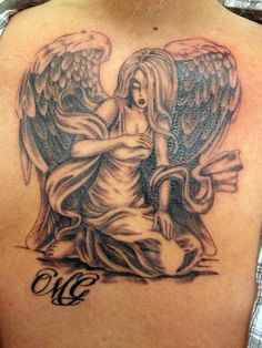Angel tattoo  3