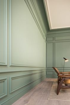 Spruce up your home's walls with the top 60 best wainscoting ideas. Explore unique millwork wall coverings and paneling interior designs. Room Paint Colors, Paint Colors For Living Room, Living Room Panelling, Modern Wall Paneling, Painted Wall Paneling, Paneling Walls, Wall Panelling, Wall Cladding, Wainscoting Styles