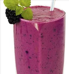 Blackberry Protein Smoothie - Easy Home Meals