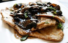 MUSHROOM VEAL MARSALA (veal scallopini, could substitute either chicken or turkey cutlets) *Large skillet http://www.italianfoodforever.com/2008/09/mushroom-veal-marsala/