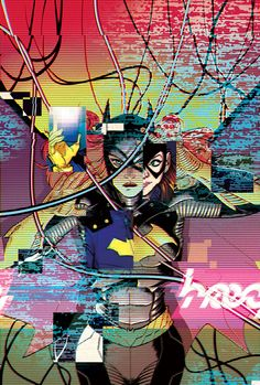 BATGIRL #40 Written by CAMERON STEWART and BRENDEN FLETCHER Art by BABS TARR Cover by CAMERON STEWART
