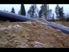 Погружной землесос и промывочно сортировочный модуль при добыче песков