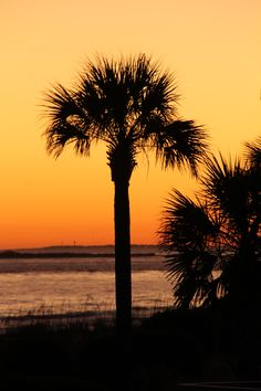Sunset at Seabrook Island, SC-I've seen this:)