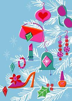 Marian Heath   Holiday card