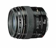 Amazon.com: Canon EF 85mm f/1.8 USM Medium Telephoto Lens for Canon SLR Cameras: CANON: Camera & Photo