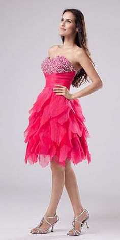 short prom dress red Cheap Evening Dresses 8443ffe43