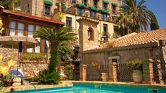 Villa Carlotta - Taormina, Sicily, Italy - Small Luxury Hotel. Site has list by European county for hotels, etc.