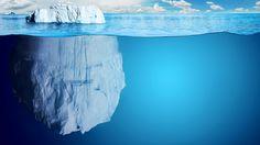 General 3840x2160 ice iceberg sea split view water