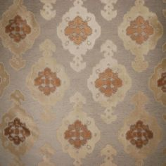 Izmir in Cognac from Old World Weavers/Stark #fabric #silk #linen #brown #neutral