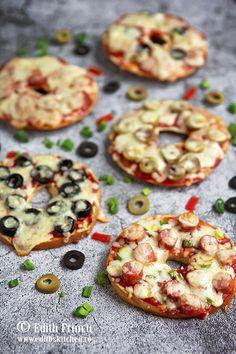 Paine din seminte - Edith's Kitchen Edith's Kitchen, Tzatziki, Ketchup, Mozzarella, Vegetable Pizza, Doughnut, Hummus, Nutella, Picnic