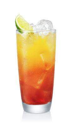Discover how to make a Malibu Mango Sunrise drink. An easy recipe for a refreshing, coconut rum drink with Malibu Mango rum, orange juice, cranberry juice and coconut water, garnished with an orange twist. Malibu Rum Drinks, Coconut Rum Drinks, Liquor Drinks, Booze Drink, Coconut Water, Alcoholic Drinks, Easy Drink Recipes, Alcohol Drink Recipes, Cocktail Recipes