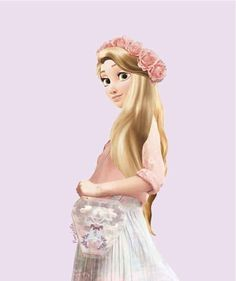 And a flower crown, of course.   This Is What Disney Characters Would Look Like In The Modern World