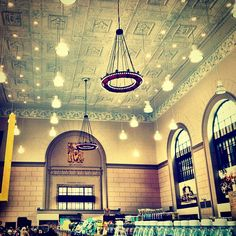 The best inexpensive grocery store in Brooklyn in a beautiful old bank