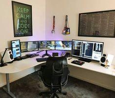 gaming productive productivity programming setup