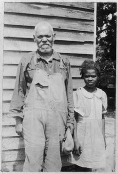 Charlie Crump and Granddaughter, Age 82