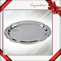 FROM USA LOVELY Sterlingcraft® Oval Serving Tray Never Needs Polishing,. Starting at $1