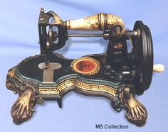 1870 Lady's arms sewing machine