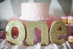 Pretty Pink First Birthday Party