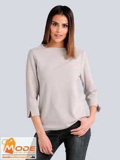 Es geht drunter drüber – mit diesem Shirt von Alba Moda das sich sowohl einzeln als auch unter einem Blazer tr... #BAUR #AlbaModa #Rabatt #24 #Marke #Alba #Moda #Farbe #beige #Material #Elasthan #Polyamid #Viskose #Muster #Unifarben #Onlineshop #BAUR #Damen #Bekleidung #Damenmode #Jersey #Shirts #Sale #Sweatshirts | sportliche Outfits, Sport Outfit | #mode #modeonlinemarkt #mode_online #girlsfashion #womensfashion Bell Sleeves, Bell Sleeve Top, Alba Moda, Sport Outfit, Mode Online, Blazer, Turtle Neck, Beige, Sweatshirts