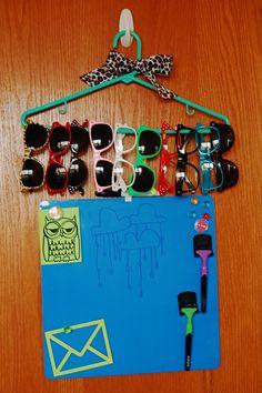 organization for my sunglasses