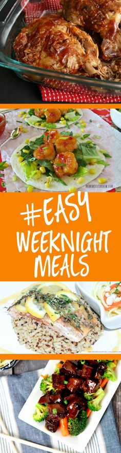 Easy Weeknight Meals... and so YUMMY, too! TablerPartyofTwo.com