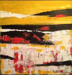 "Saatchi Online Artist: Heather Baudet; Acrylic, Painting ""Waiting"""