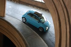 Fiat 500 TwinAir - artistic shoot, sweet colors.