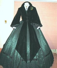Scarlett train depot jacket and dress Gone With the Wind