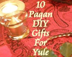 Top 10 #Pagan DIY Gifts for Yule - smudge sticks, protection bags, cinnamon stars and more...
