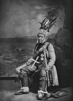 Thomas Barnett while attending the Pan-American Exposition in Buffalo, New York - Iroquois - 1901