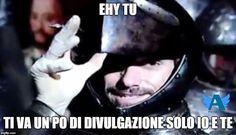 Meme di Stefany Errico sul gruppo fb Angelers - Fan di Alberto Angela