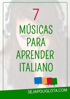Além de ser divertido, aprender um novo idioma com música ajuda o seu cérebro começar a distinguir os diversos sons da língua, melhorar a pronúncia, aumentar o vocabulário e muito mais! Confira 7 músicas para aprender italiano!