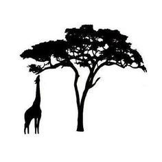 acacia tree motif on wall - Google Search