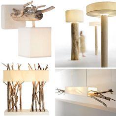 driftwood unique craft lights