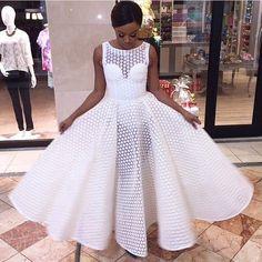 bonang.....white dresss....love it