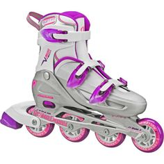These girls' Roller Derby V-Tech 500 inline skates accommodate youth with growing feet. This skate provides support and stability without sacrificing a great fit. Roller Derby Skates, Roller Derby Girls, Roller Skating, Roller Skates For Kids, Girls Inline Skates, Womens Inline Skates, V Tech, Sports Games For Kids, Inline Skating