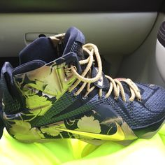 new product e35fc 04c4a My customized lebrons